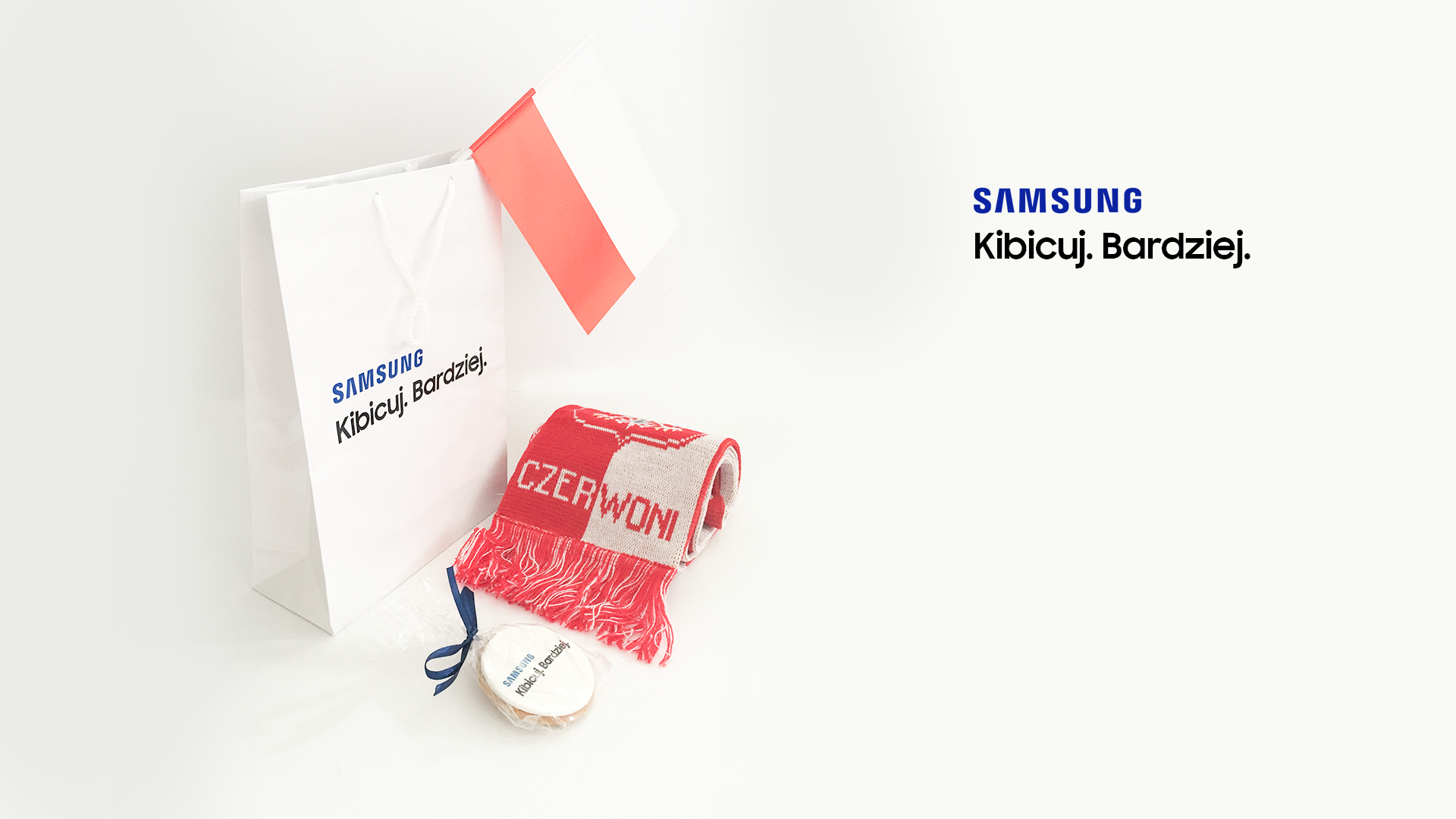 samsung welcome pack zestaw kibica
